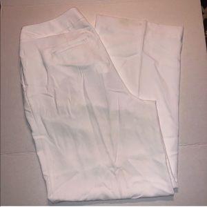 ♦️ Liz Claiborne 14W white slacks